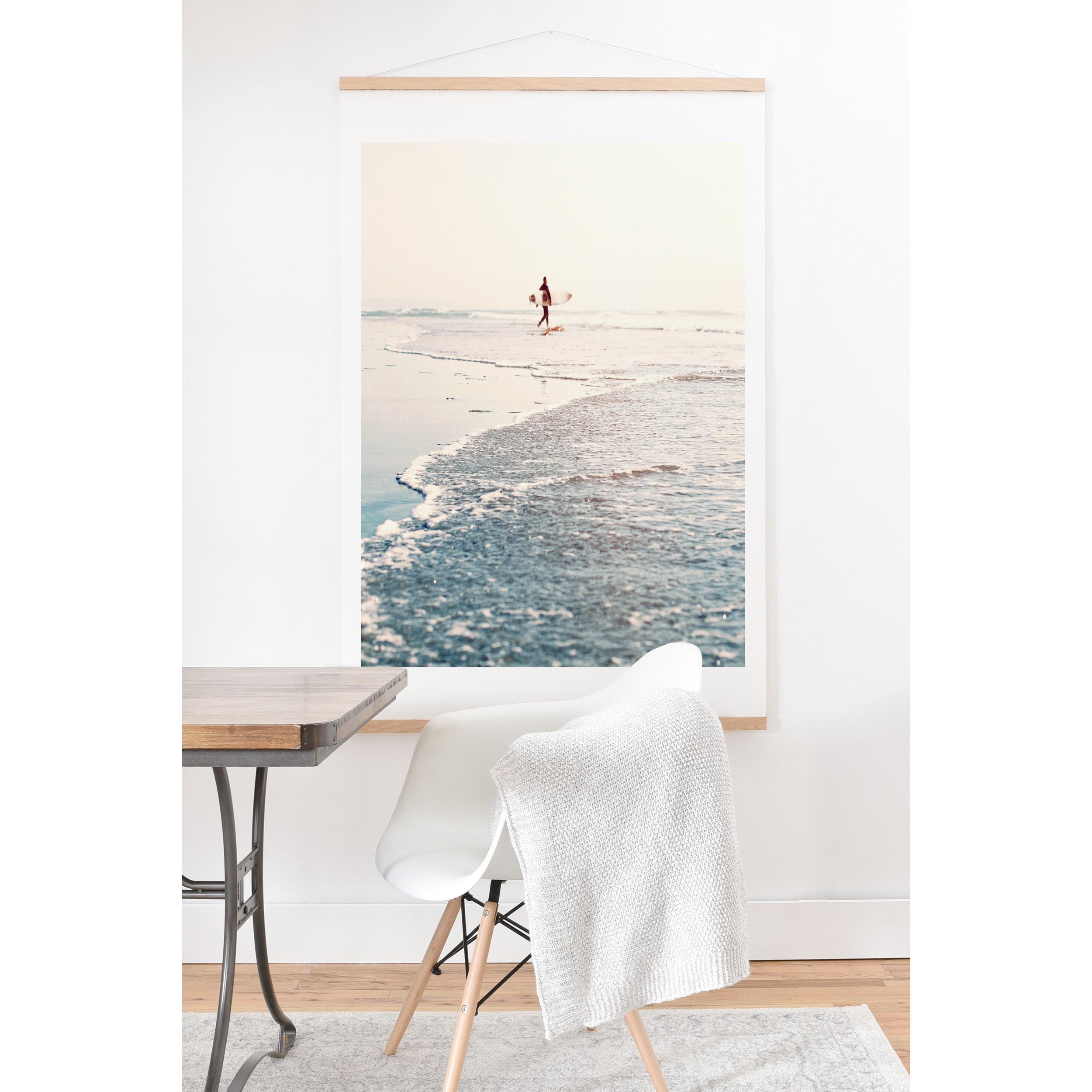 Bree Madden Surfer Dude Art Print And Hanger Overstock 14403320