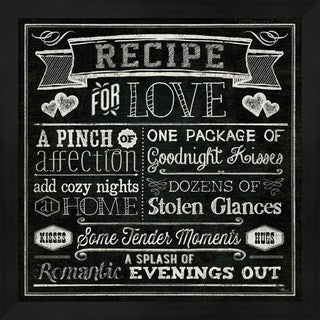 Pela Studio 'Thoughtful Recipes III' Framed Art