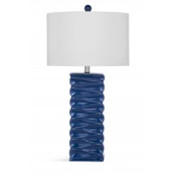 Zoey Blue Ceramic 31-inch Table Lamp