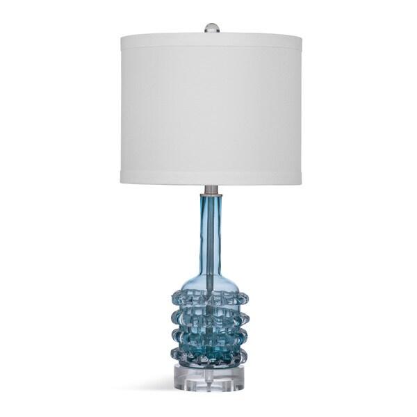 Malibu Blue Glass 26-inch Table Lamp