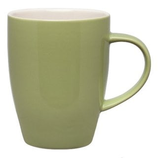 Dinnerware Coffee Sage Ceramic Stoneware 12-ounce Mugs (Pack of 4)