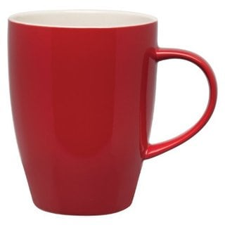 Dinnerware Rose Ceramic Stoneware 12-Ounce Coffee Tea Mugs (Pack of 4)