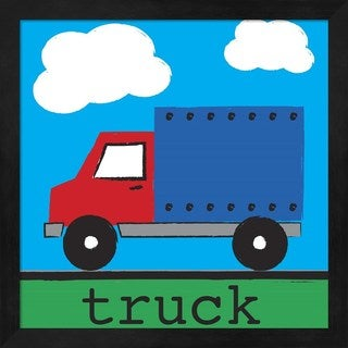 Melanie Parker 'Truck' Framed Art