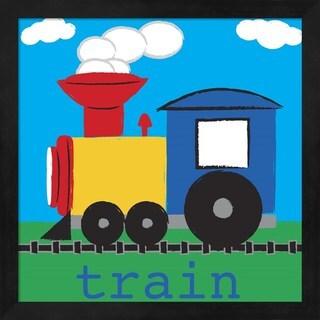 Melanie Parker 'Train' Framed Art