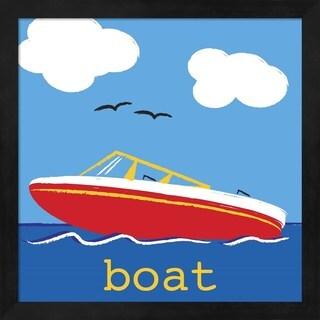 Melanie Parker 'Boat' Framed Art