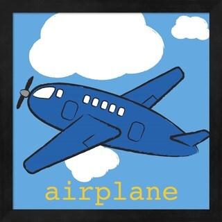 Melanie Parker 'Airplane' Framed Art