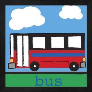 Melanie Parker 'Bus' Framed Art