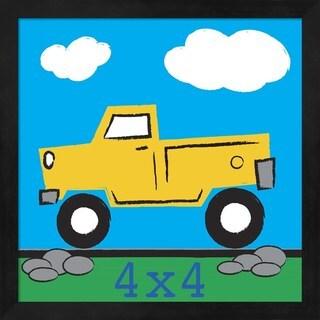 Melanie Parker '4x4 Truck' Framed Art