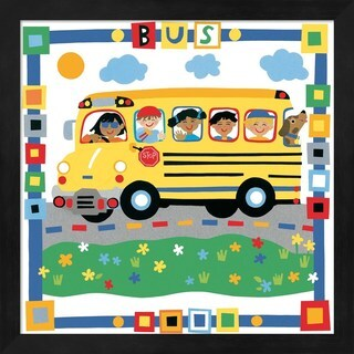 Cheryl Piperberg 'Bus' Framed Art