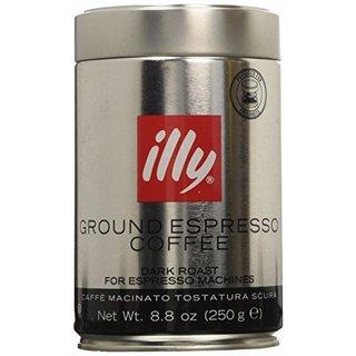 Illy Ground Espresso Dark Roast Coffee (Set of 2)
