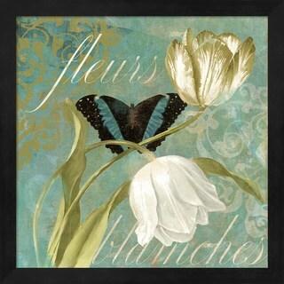Color Bakery 'White Tulips II' Framed Art