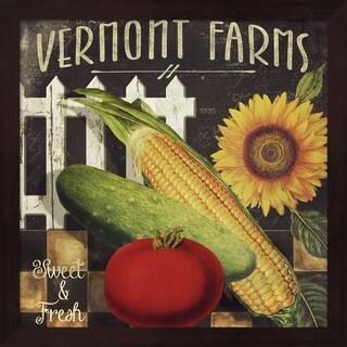 Color Bakery 'Vermont Farms VII' Framed Art