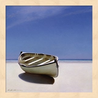 Zhen-Huan Lu 'Beached Boat' Framed Wall Art