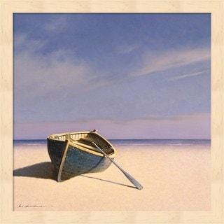 Zhen-Huan Lu 'Beached Boat 1' Framed Art
