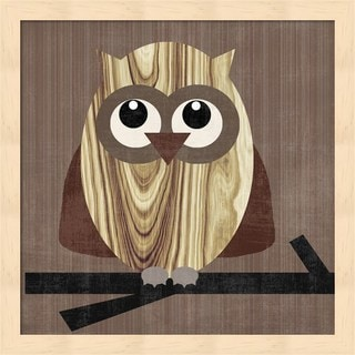 Erin Clark 'Owl 2' Framed Art
