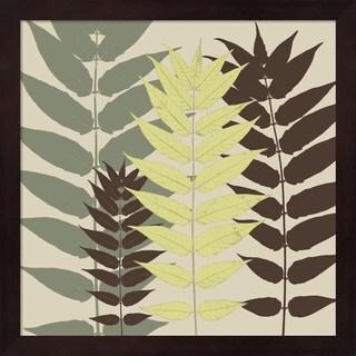 Erin Clark 'Garden Botanical' Framed Art