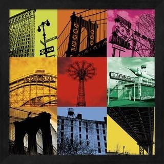 Erin Clark 'New York Nine' Framed Art