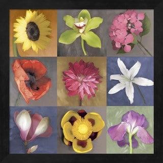 Erin Clark 'Flower Nine' Framed Art