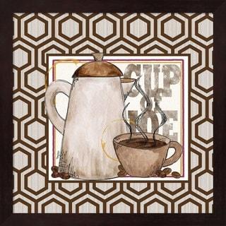 Tara Reed 'Modern Coffee I' Framed Art