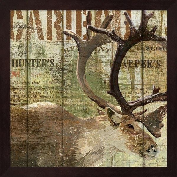 Art Licensing Studio 'Open Season Caribou' Framed Art