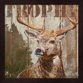Art Licensing Studio 'Open Season Trophy' Framed Art
