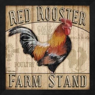 Jen Killeen 'Country Rooster I' Framed Art