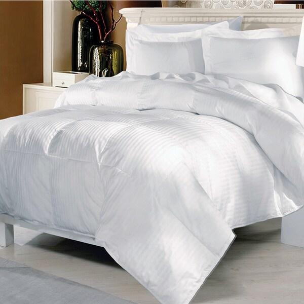 Elle 500 Thread Count European White Goose Down Comforter
