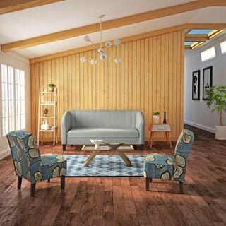 Porch & Den Belltown Lenora Grey Sofa