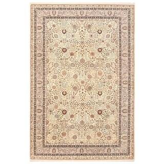 Herat Oriental Afghan Hand-knotted Vegetable Dye Kerman Wool Rug (11'7 x 17'6)