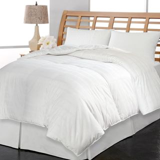 kathy ireland 600 Thread Count Pima Cotton European White Goose Down Comforter