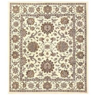 Herat Oriental Afghan Hand-knotted Vegetable Dye Oushak Wool Rug (8'5 x 9'8)