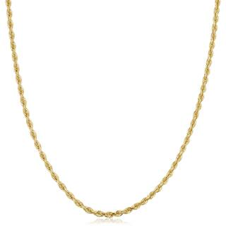 Fremada 18k Yellow Gold 2.6-mm Rope Chain Necklace (25 inches)|https://ak1.ostkcdn.com/images/products/14403985/P20973563.jpg?impolicy=medium