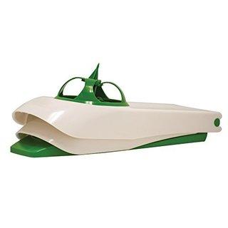 Alligation Green Stainless Steel Onion Peeler