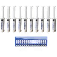 Teeth Whitening Gel Syringes 44-percent Carbamide Peroxide (Pack of 10)