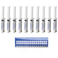Teeth Whitening Gel Syringes 35-percent Carbamide Peroxide (Pack of 10)
