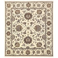 Herat Oriental Afghan Hand-knotted Vegetable Dye Oushak Wool Rug (11'6 x 13'1)