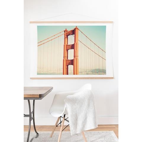 Bree Madden 'Golden Escape' Hanging Art Print