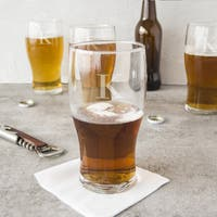 Personalized 19-ounce Craft Beer Pilsner Glasses (Pack of 4)