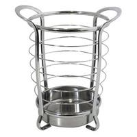 InterDesign Axis Round Chrome Utensil Holder
