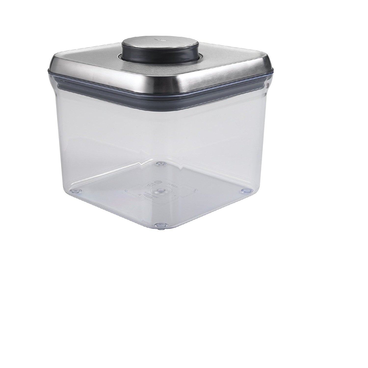 LTD OXO Big Square Steel POP Container (2.4 Quart) (Clear...