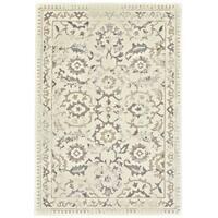 """Grand Bazaar Nahele 603R-3861 Cream/ Gray Area Rug (7'10"""" x 11') - 7'10 x 11'"""