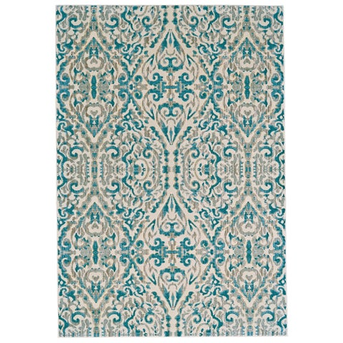 "Grand Bazaar Arsene Turquoise Area Rug - 7'10"" x 11'"