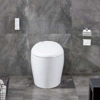 OVE Decors TUVA Elongated Toillet Bidet