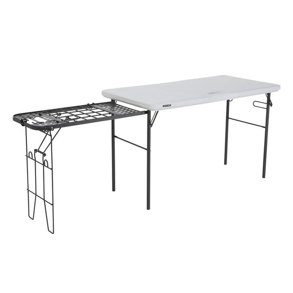 Shop Lifetime 4 Foot Tailgate Table Free Shipping Today