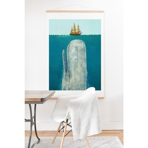 Terry Fan 'The Whale' Art Print and Hanger