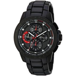 Michael Kors Men's MK8529 'Ryker' Chronograph Black Stainless Steel Watch