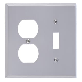 Quaker Double 1-Switch 1-Outlet