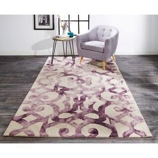 Grand Bazaar Marengo Violet Area Rug (8' x 11') - 8' x 11'