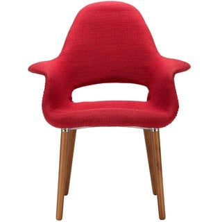 Twill Upholstered Hand Formed Organic Chair