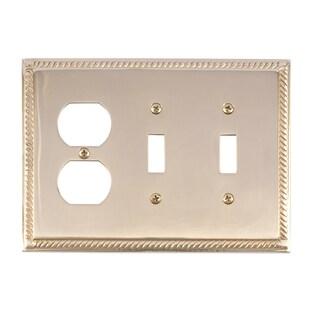 Georgian Triple 2-Switch/ 1-Outlet